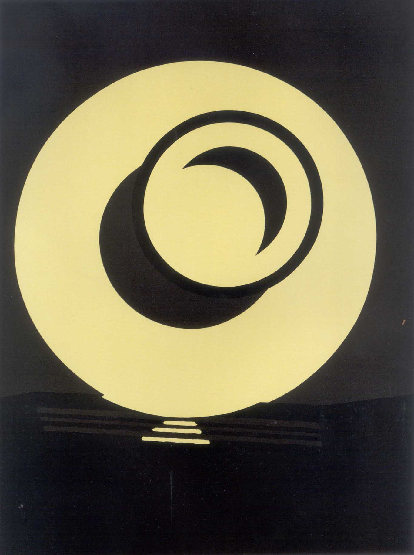 Patrick Caulfied  Wall Plates: Highlights • 1987 Serigrafia Edição: 50 129.4 x 101.5 cm