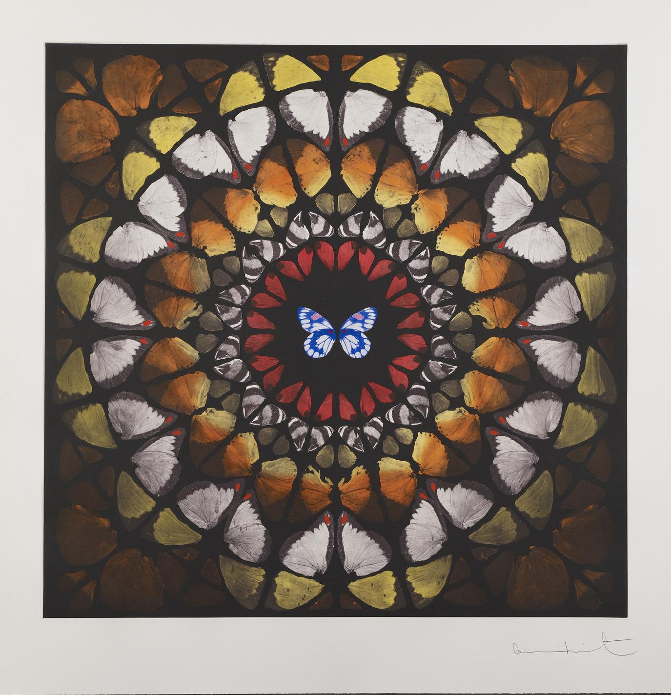 Damien Hirst  Chancel • 2009 fotogravura Edição: 59 118.5 x 118.5 cm