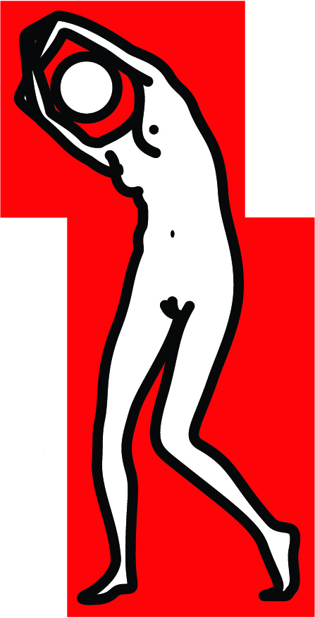 Julian Opie  Catherina Dancing • 2012 Serigrafia em madeira pintada Edição: Unica 31.5 x 16.5 x 8.0 cm
