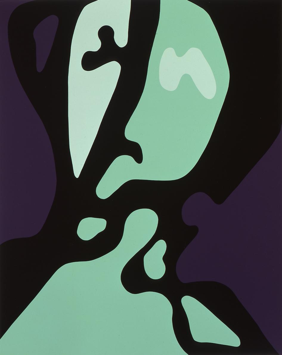 Gary Hume  Spring Angels 05 • 2000 Serigrafia Edição: 45 127 x 101.6 cm