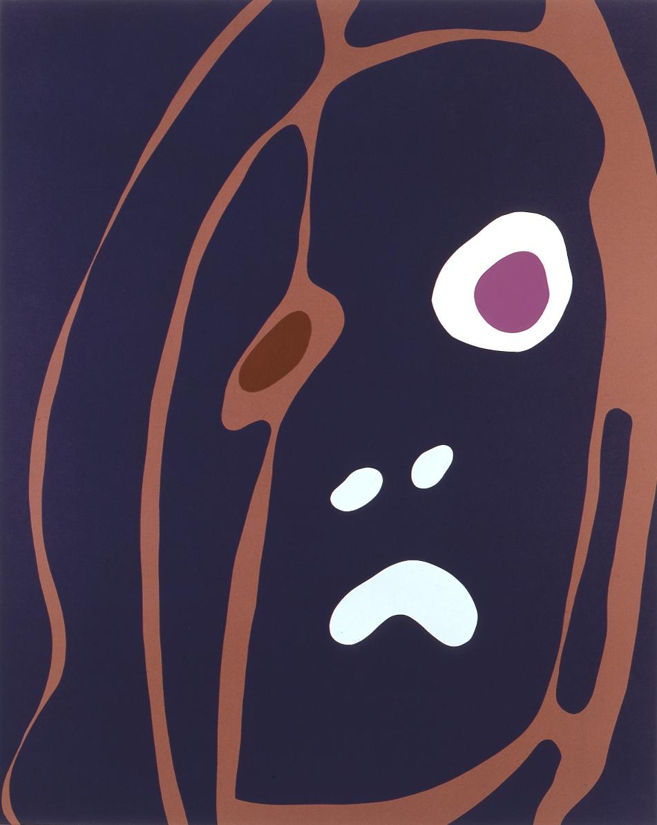 Gary Hume  Spring Angels 06 • 2000 Serigrafia Edição: 45 127 x 101.6 cm
