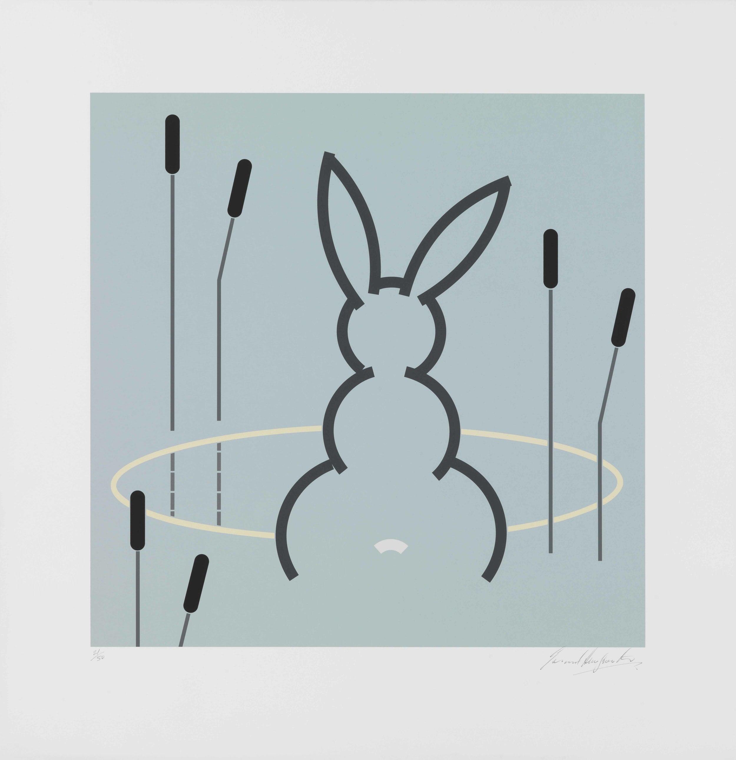 Gerard Hemsworth   Reflection • 2007 Impressão a jato de tinta Edição: 20   84 x 81.2 cm