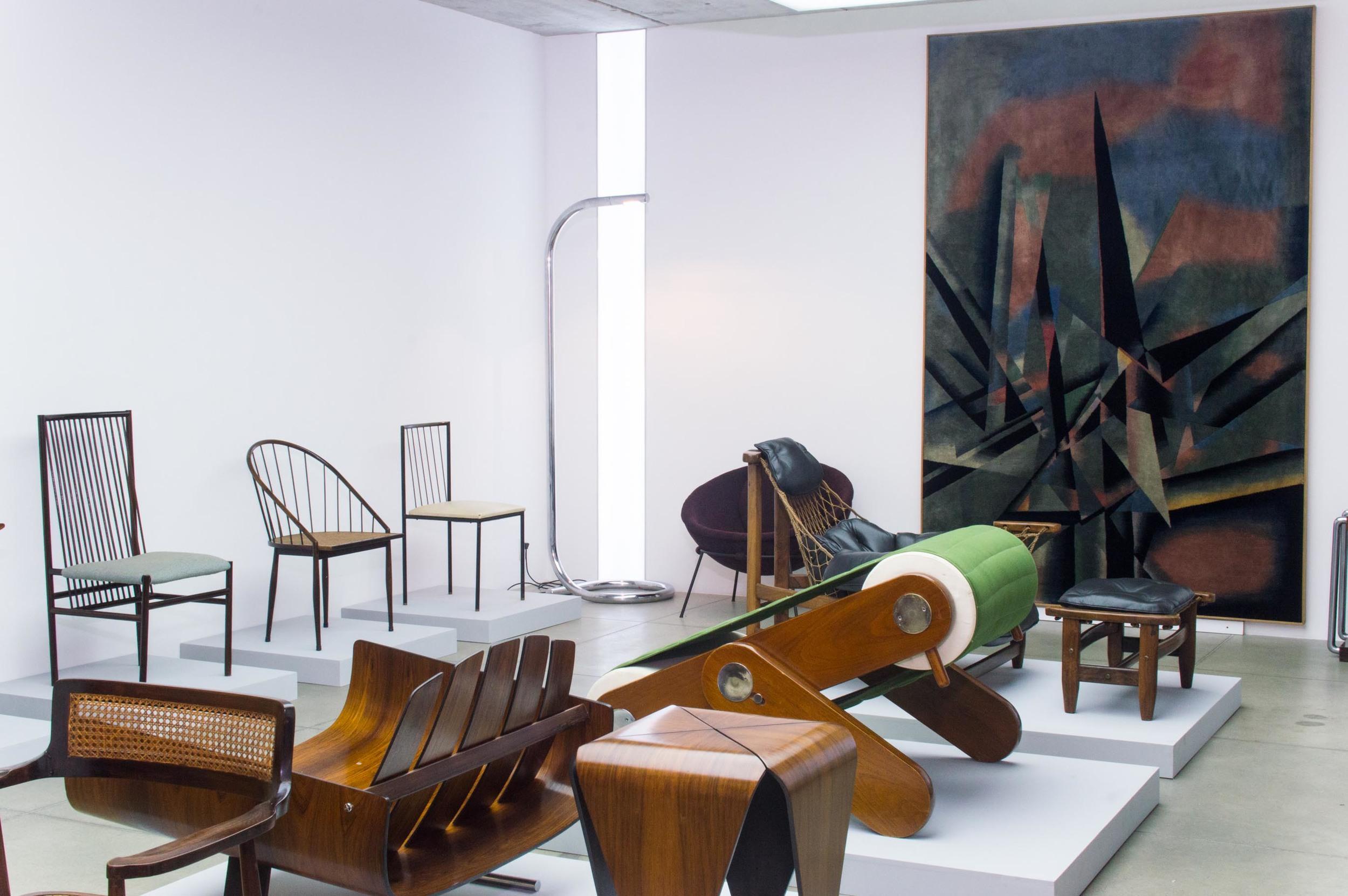 Vista da exposição,foto Caio Caruso