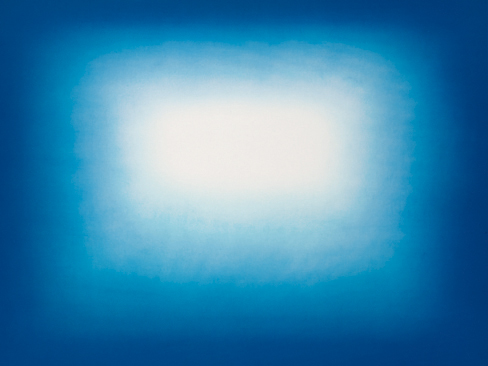 Blue Shadow 03  2013  gravura em metal  72,4 cm x 96,4 cm