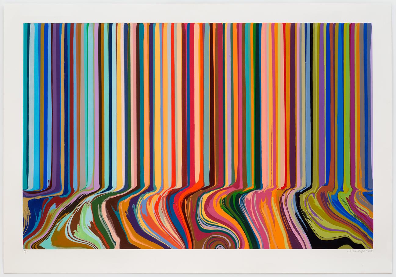 Colourcade Buzz  2015  gravura em metal  125 cm x 175 cm