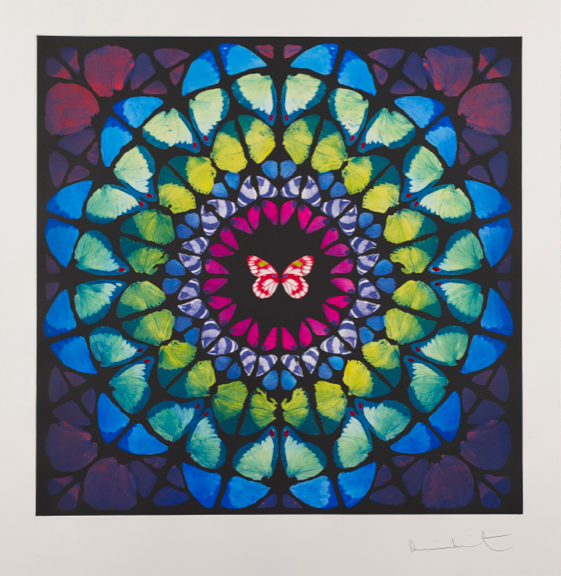Damien Hirst  Spire • 2009 fotogravura Edição: 59 118.5 x 118.5 cm