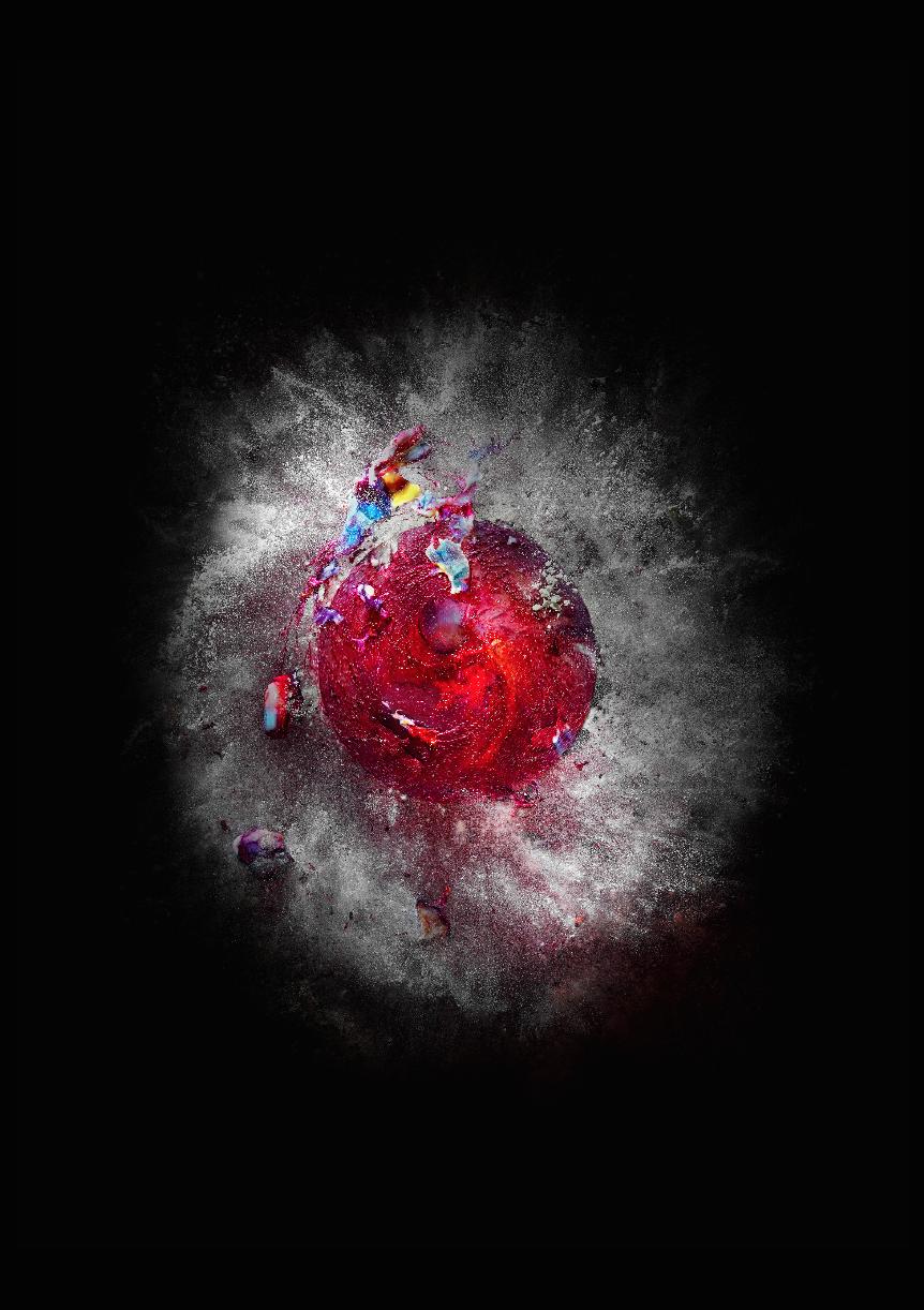 Nebula  Impressão papel 100% algodão Hahnemuhle - Photo Rag 308 gsm  118 x 160cm
