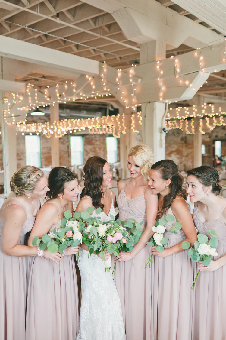 This gorgeous wedding was captured by  Bekah Taylor Photography  and florals done by  My Simple Soiree .