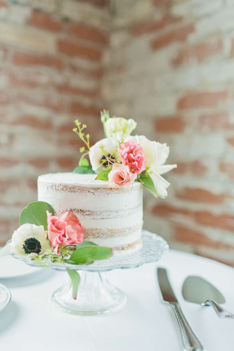 Captured by   Bekah Taylor Photography   and florals done by   My Simple Soiree  . Cake by Bread & Chocolate.