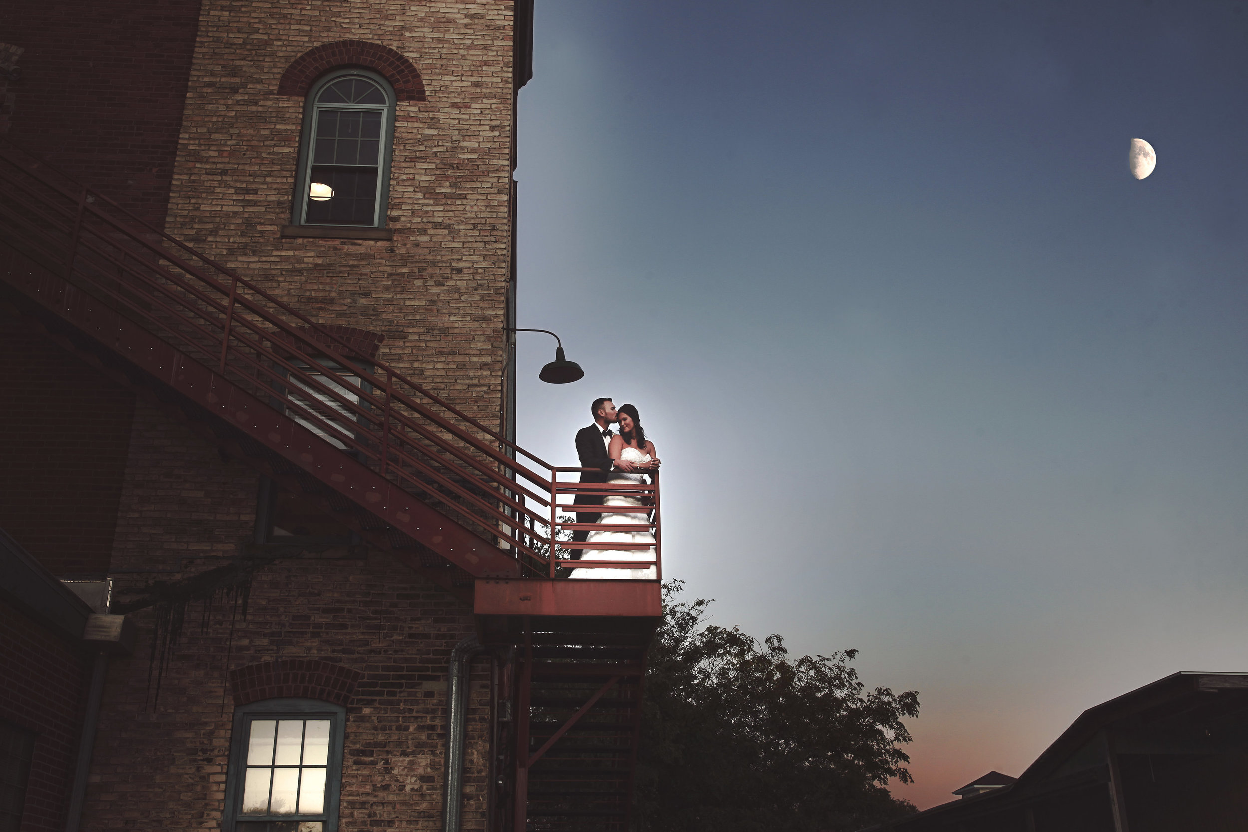 The fire escape.Photo by  Lindsey Marie Photography .