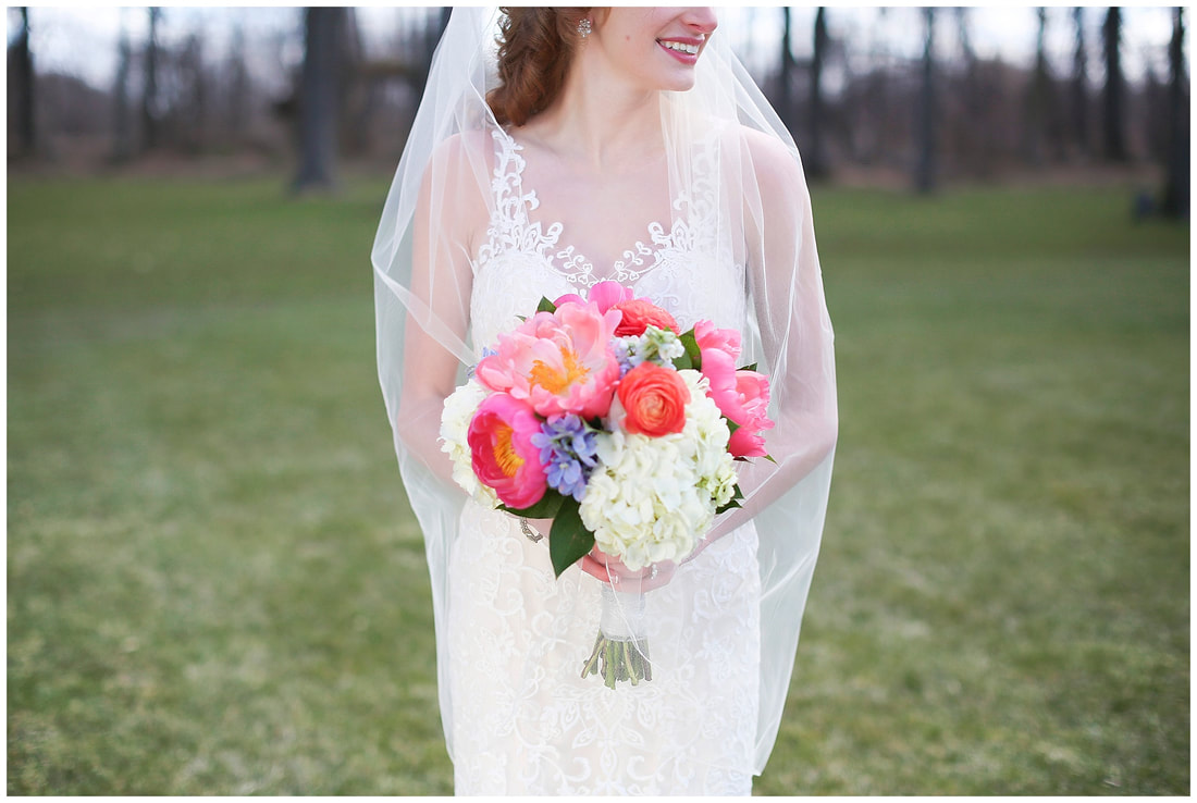 Photo:  Darcy Holsopple Photography  Bouquet:  Matzke Florist