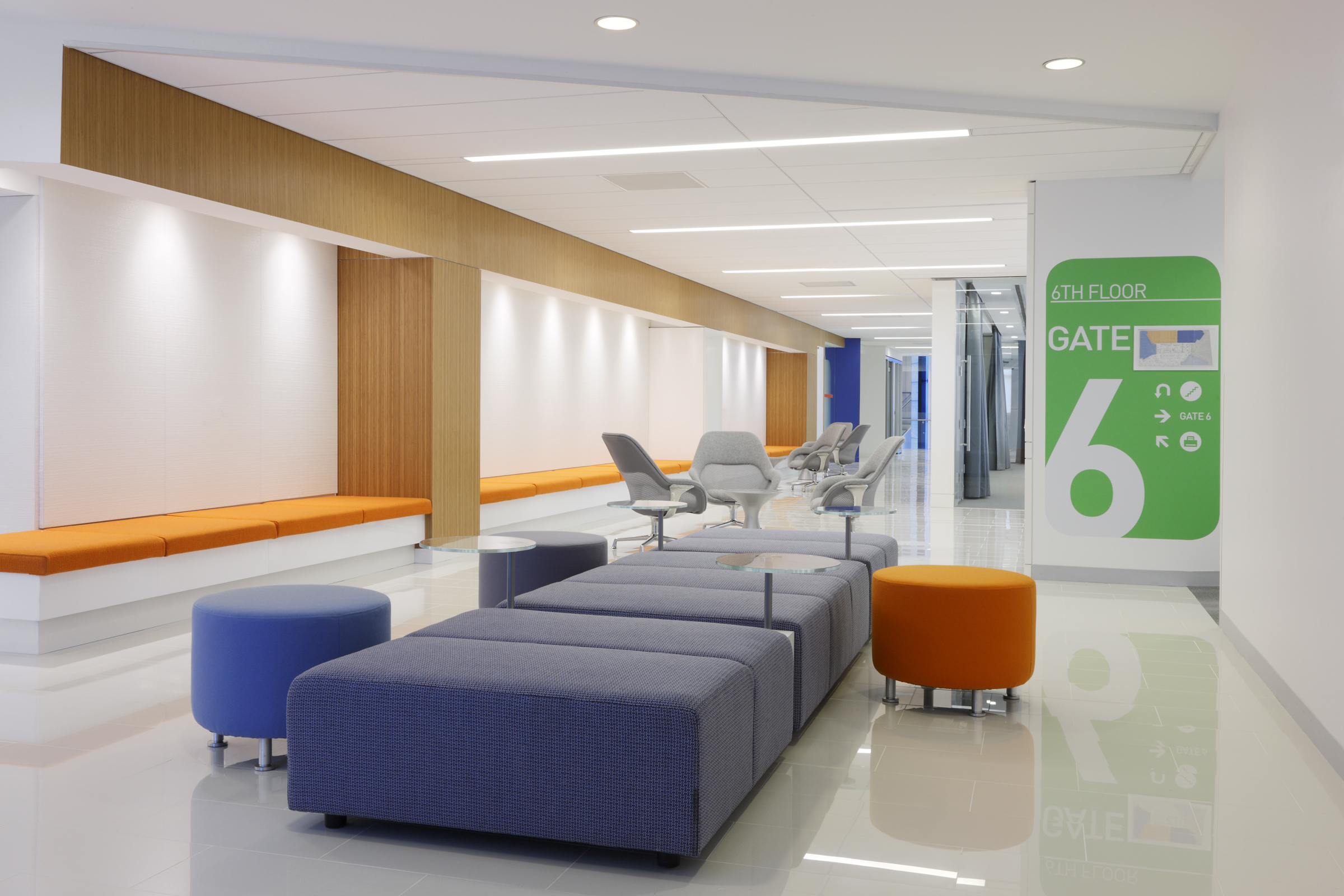 jetBlue offices, NYC, 2012