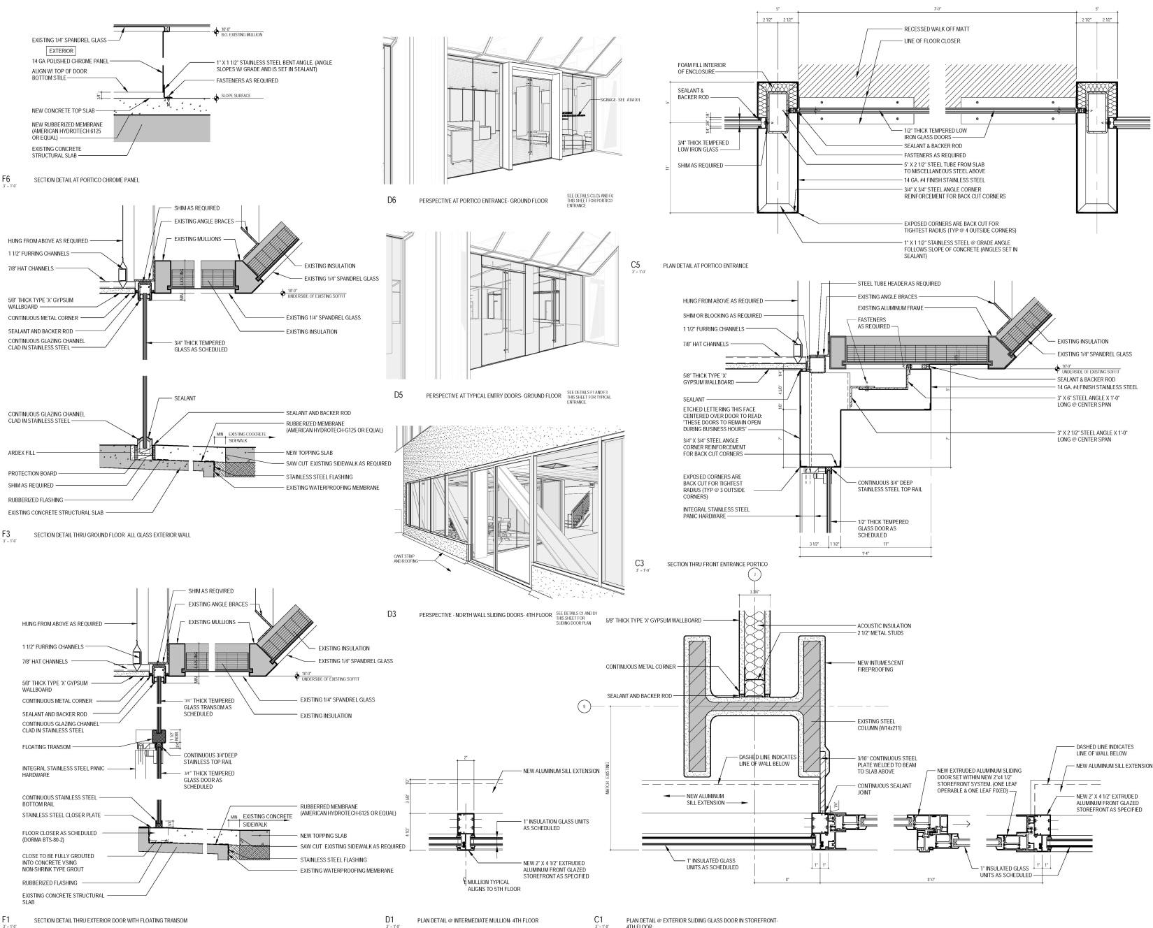 Exterior Detail Sheet