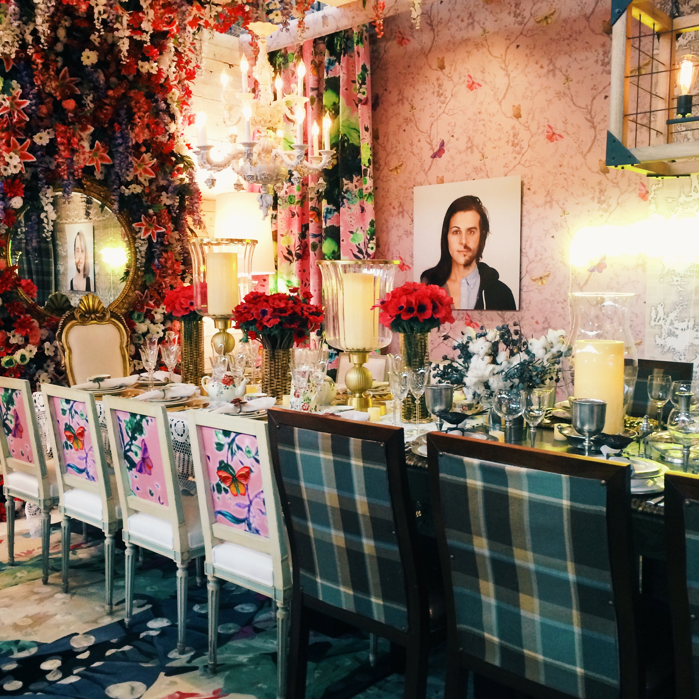masculine/feminine  by katie curtis and NYDC at DIFFA dining by design 2014.