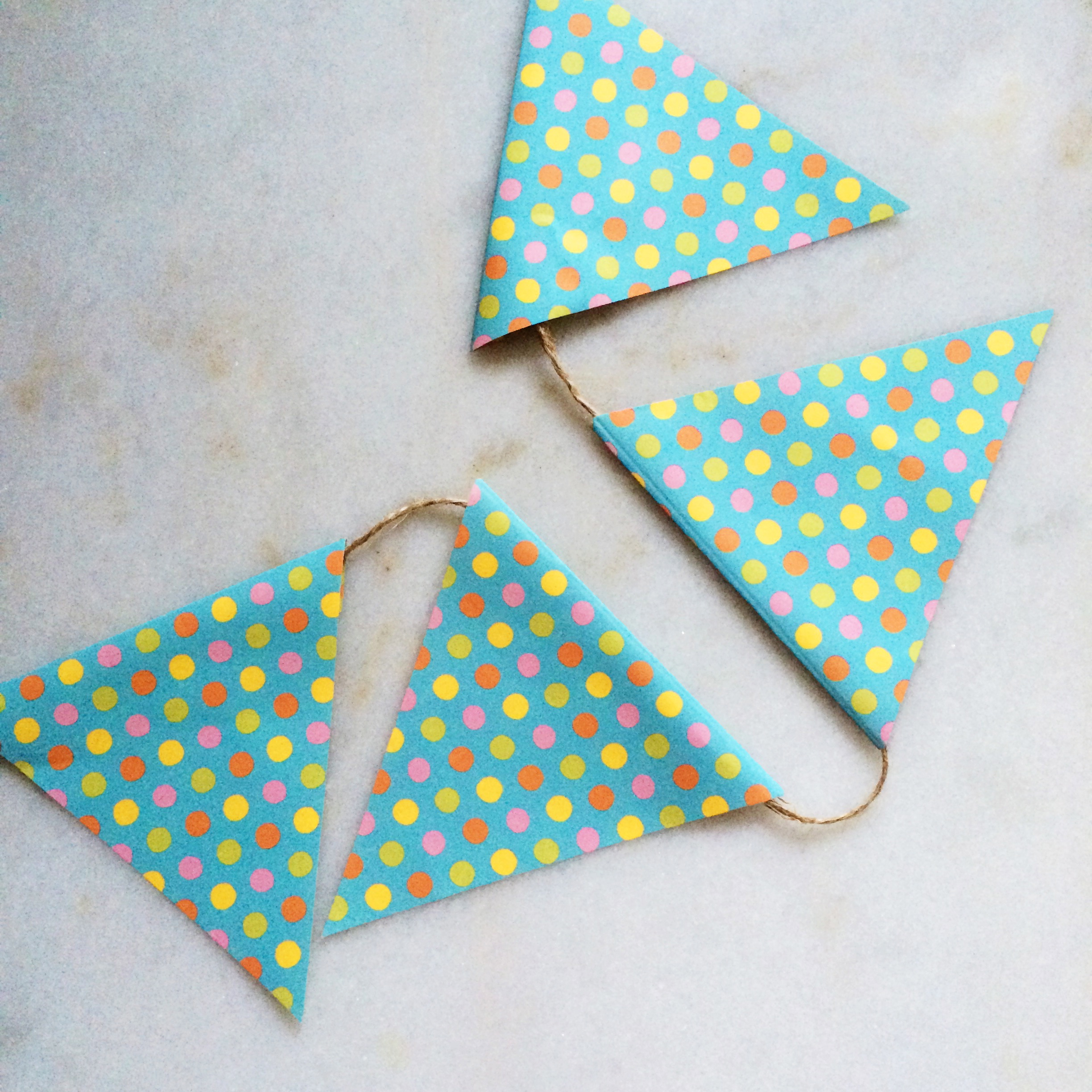 baby-appropriate bunting.