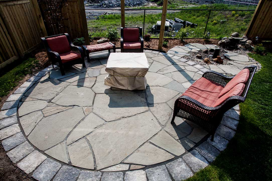Natural Stone Patio's