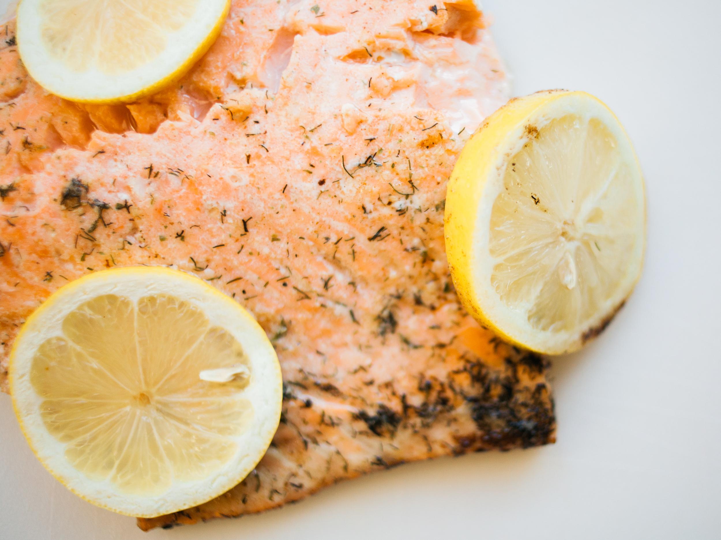 Lemon Fresh Salmon