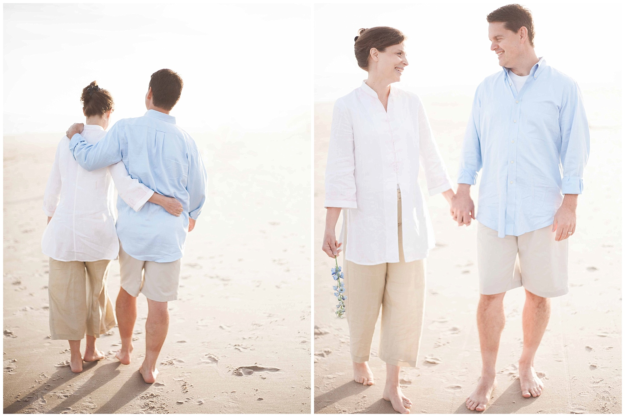 Topsail Beach Anniversary Photographer | Wynona Benson Photography