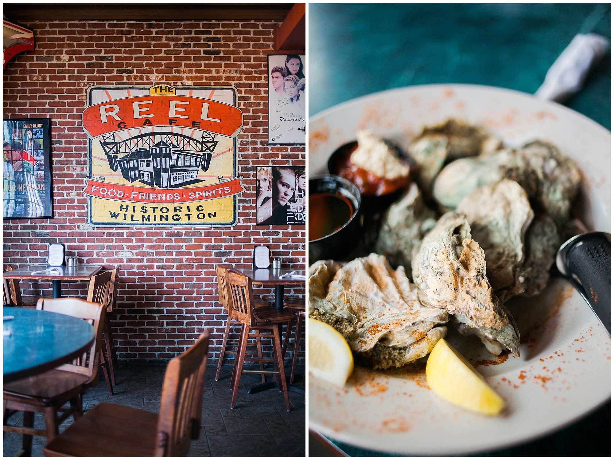 Reel Cafe Wilmington NC | Food Photography