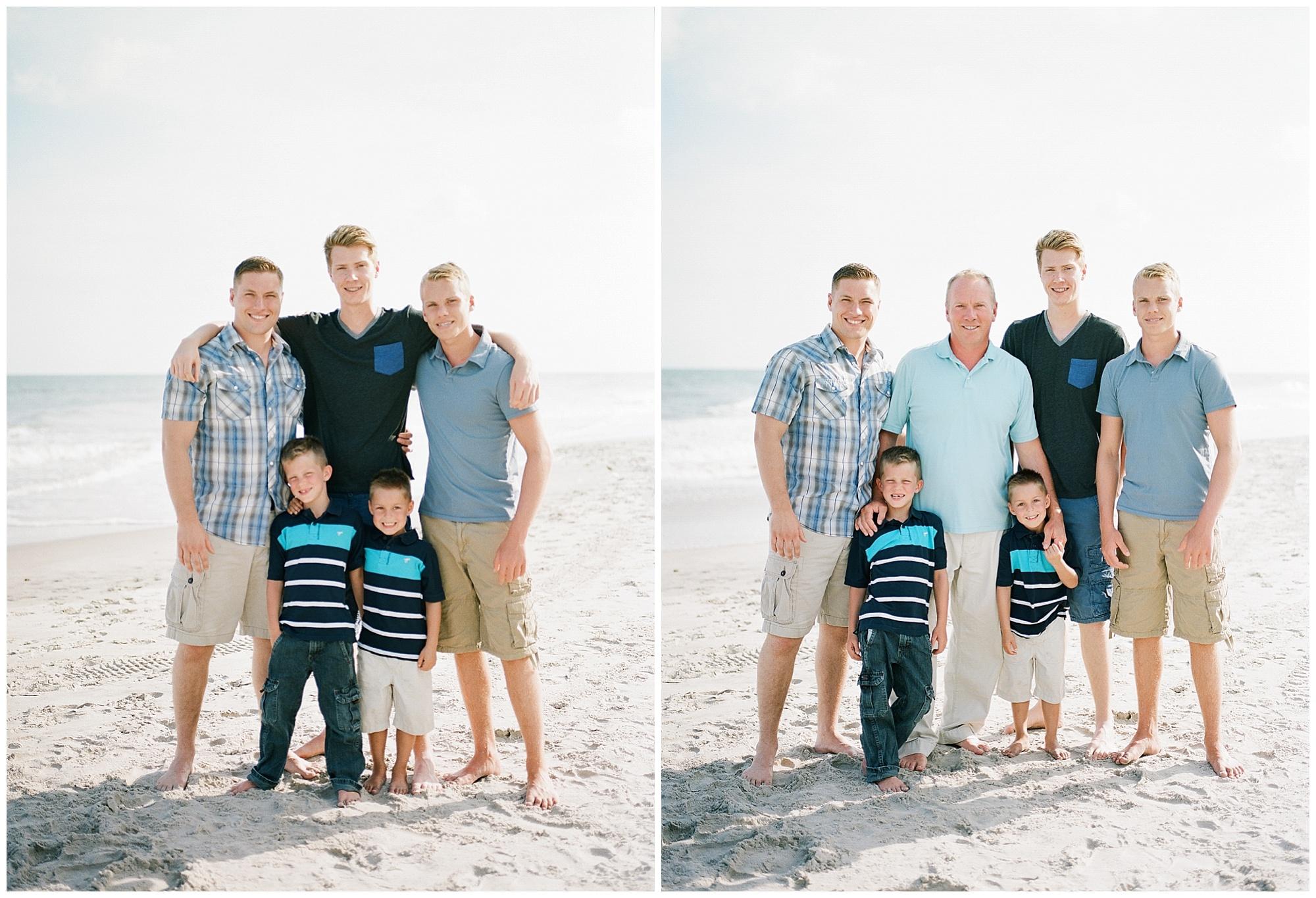 Beach Family Portraits | Wynona Benson