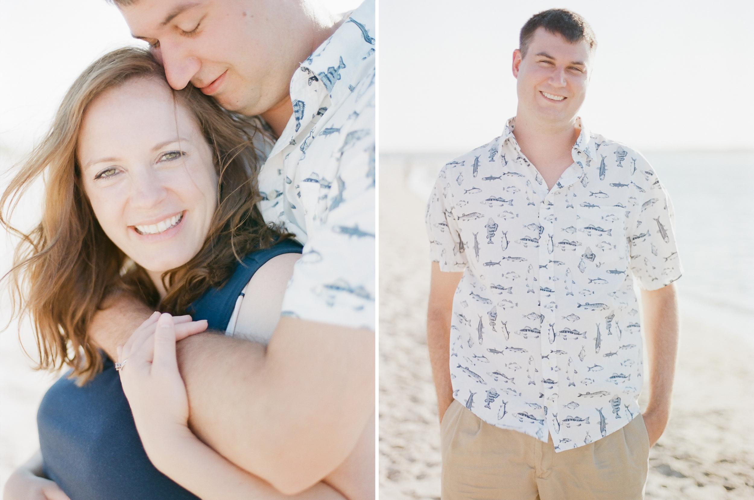 Portraits on the beach