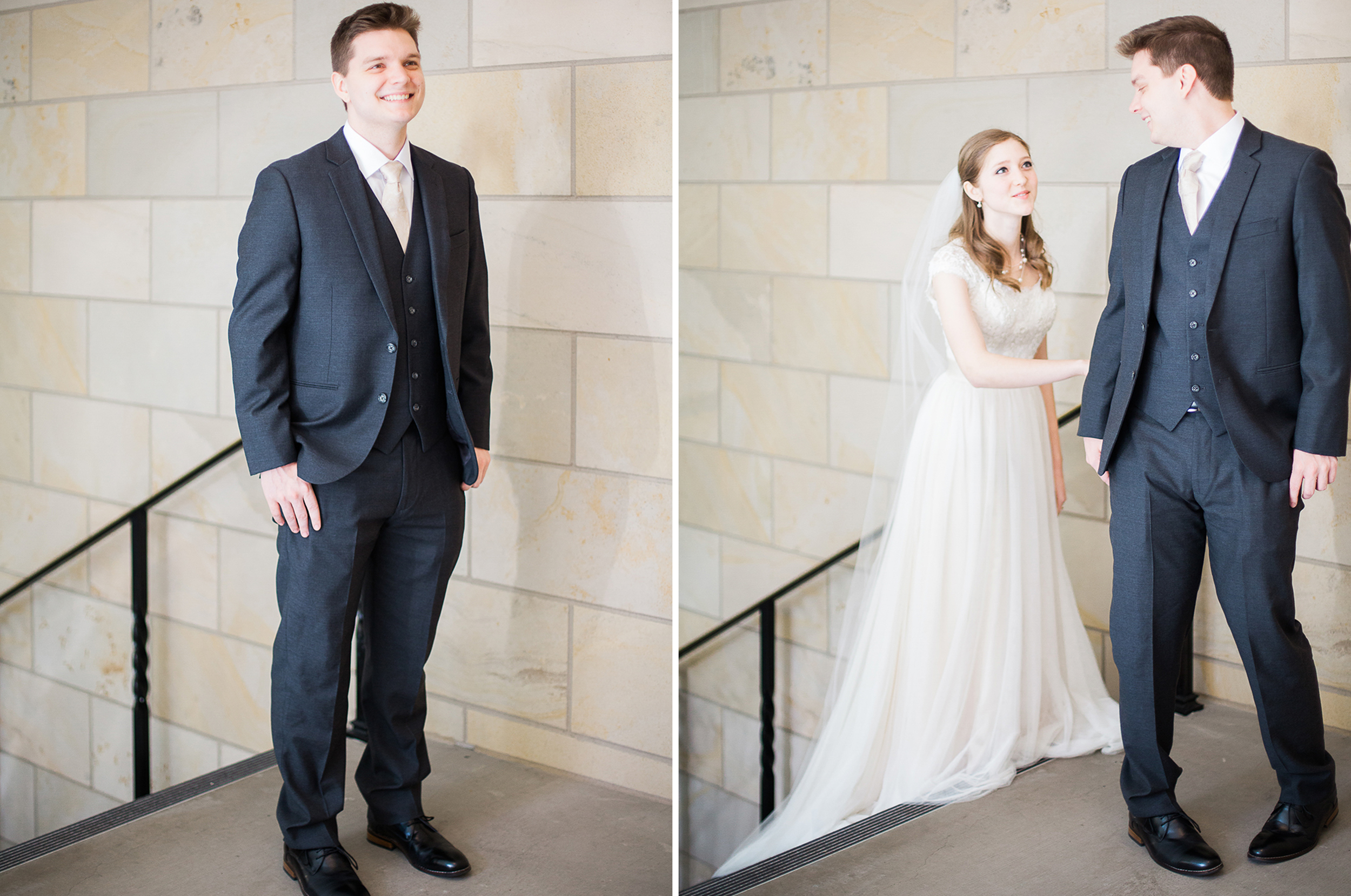 Provo City Temple Weddings First Look