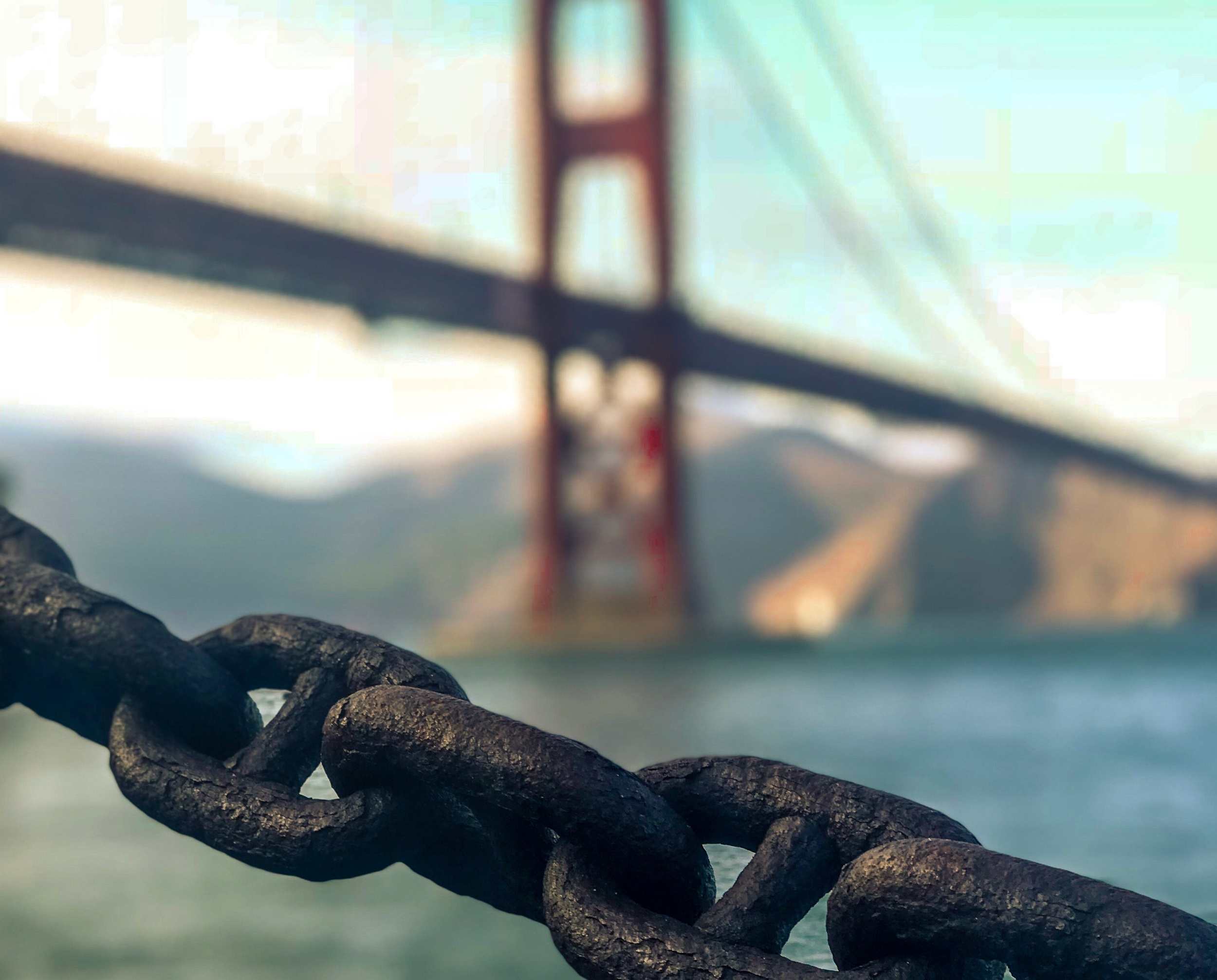 Fort Point. San Francisco, California.