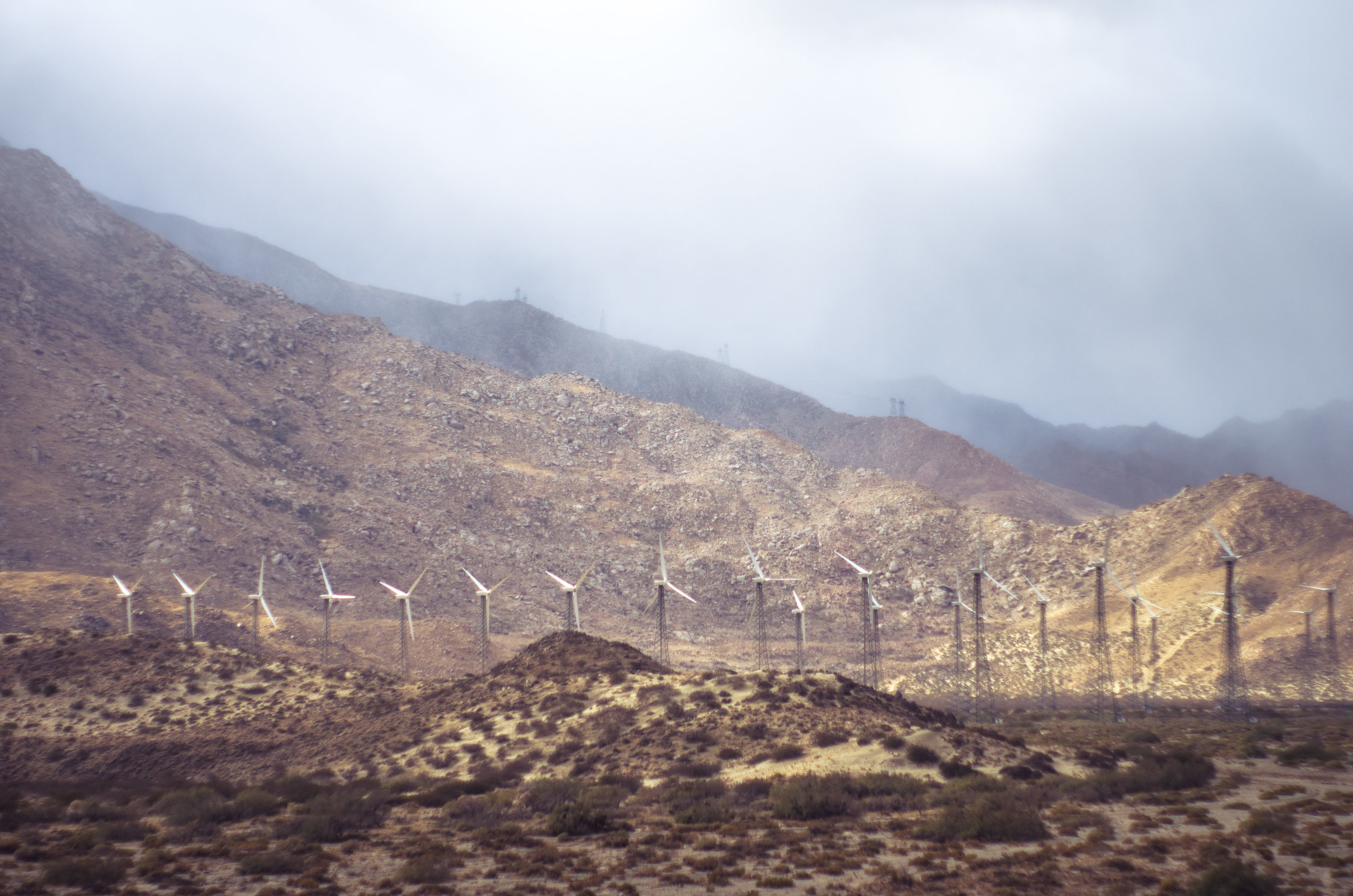 Publicly Owned Utilities are critical to our clean energy future. Palm Springs, California.