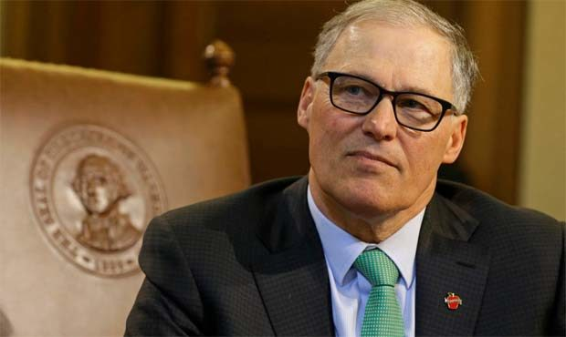 Washington governor and presidential candidate Jay Inslee. (AP)