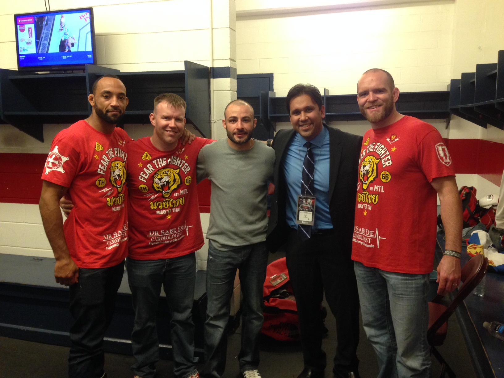 UFC Fighter Chris Kelades. Pictured following Fight of the Night Victory at UFC Fight Night 54, Halifax