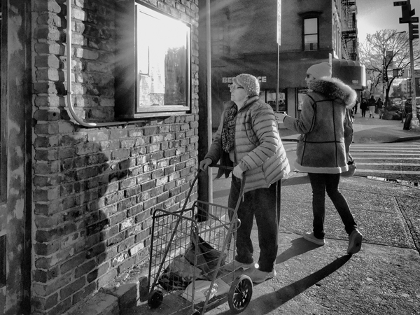 Woman and Her Cart