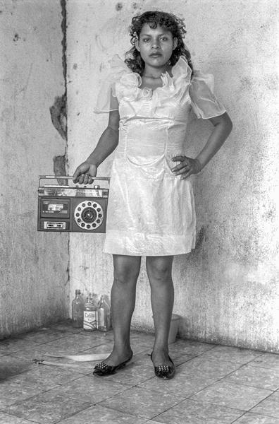 Girl With Radio