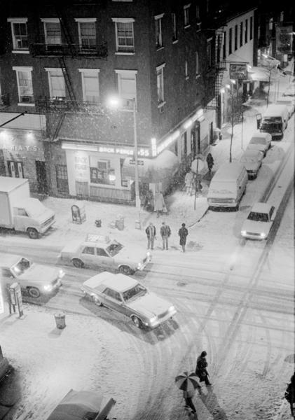Thompson Street and Bleeker Street