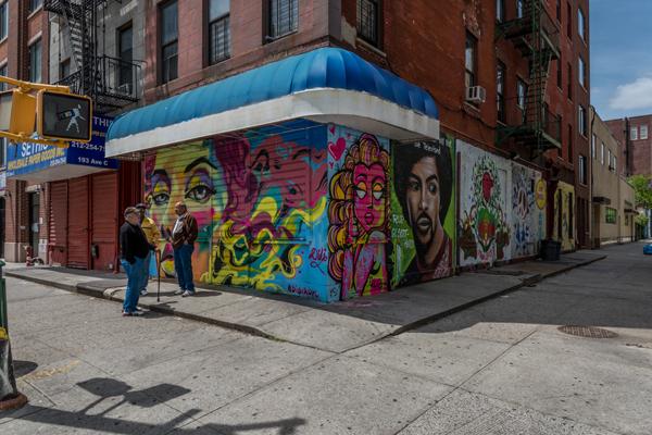 Street Corner, East Village