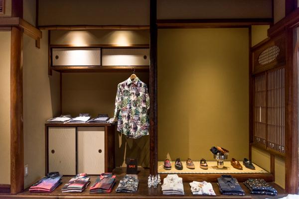 Machiya, Paul Smith Shop Interior