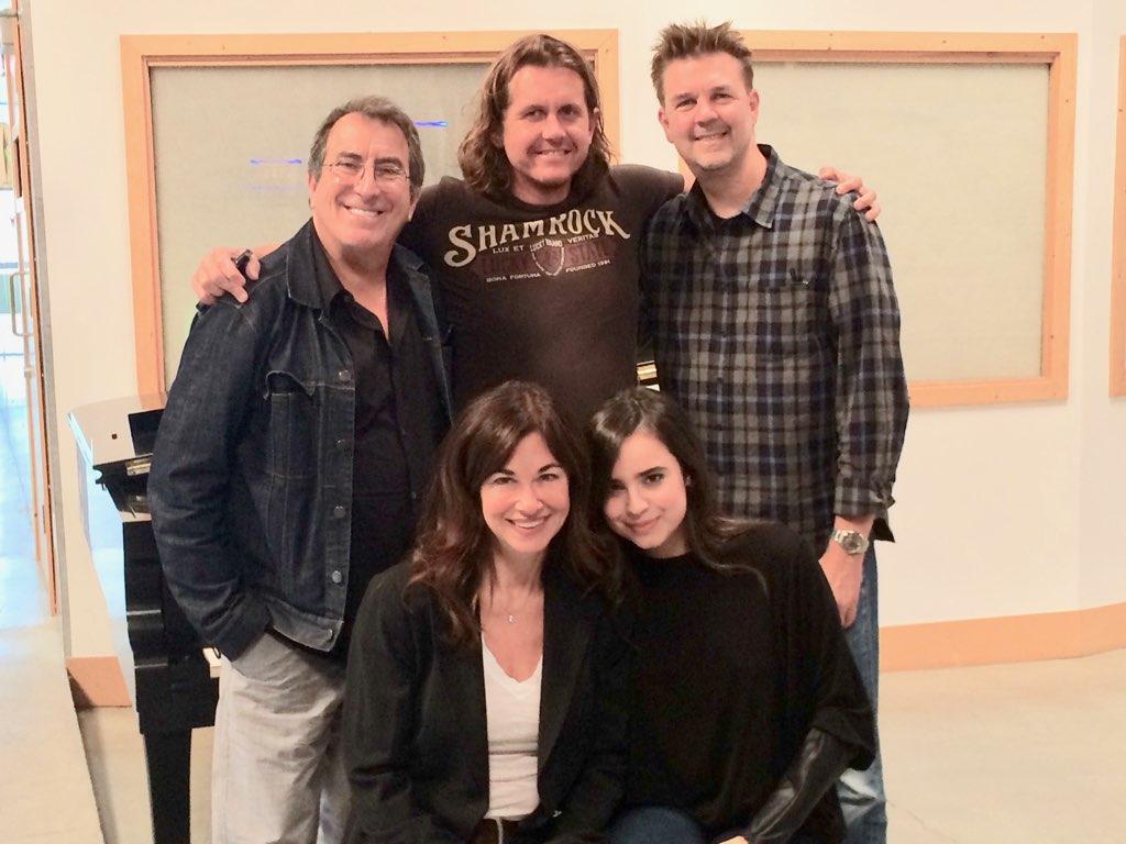 Clockwise…Kenny Ortega, Joacim Perrson, Steven Vincent, Sofia Carson and me