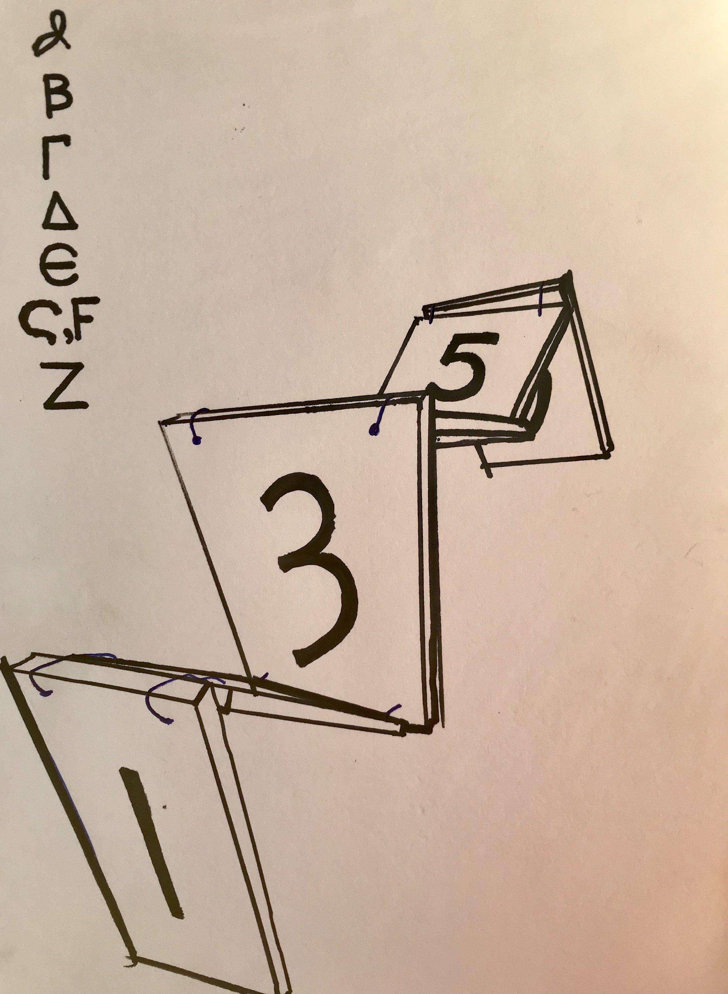 One through Seven