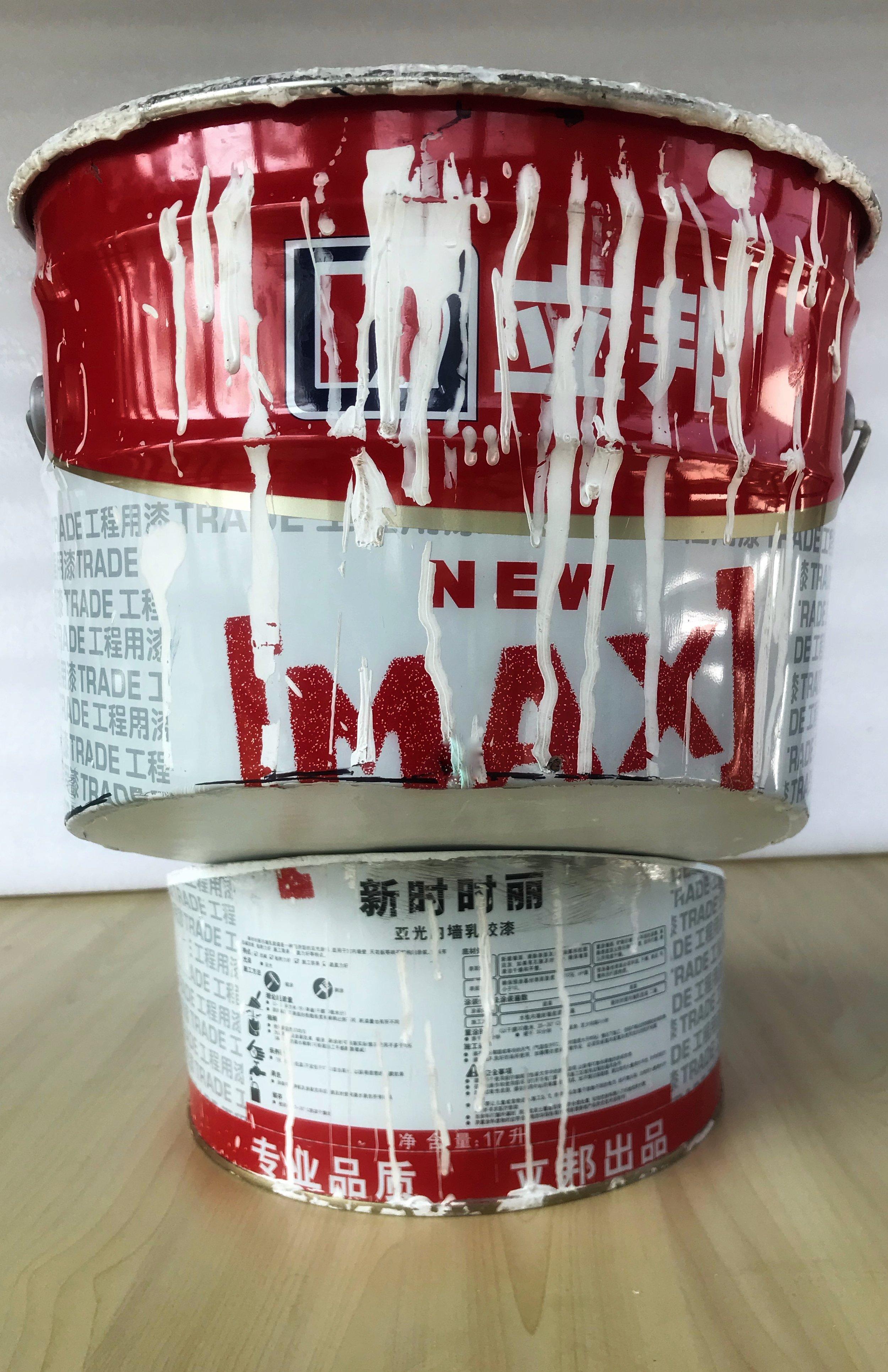 Paint Bucket, China