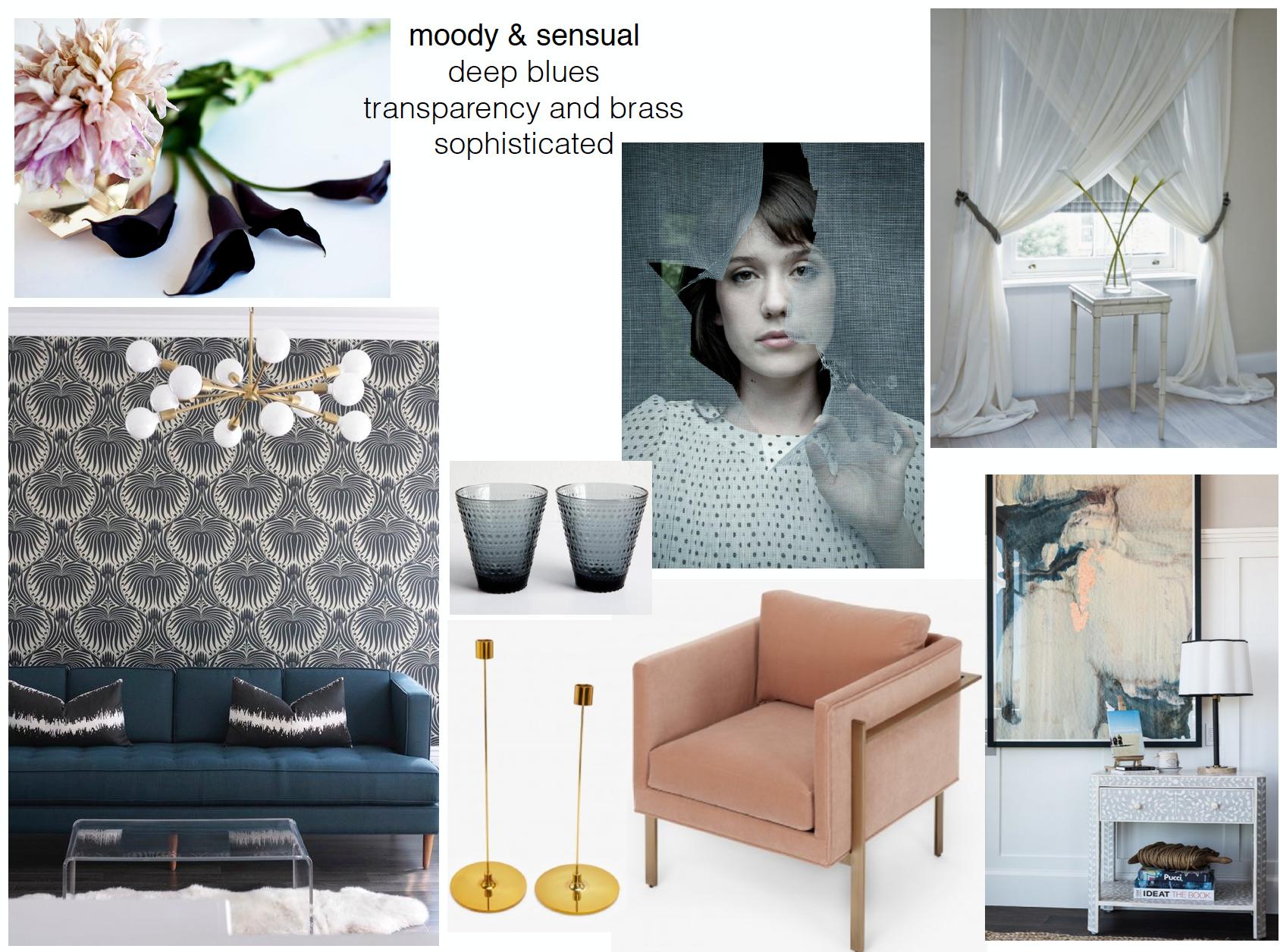 concept boards - Moody & Sensual