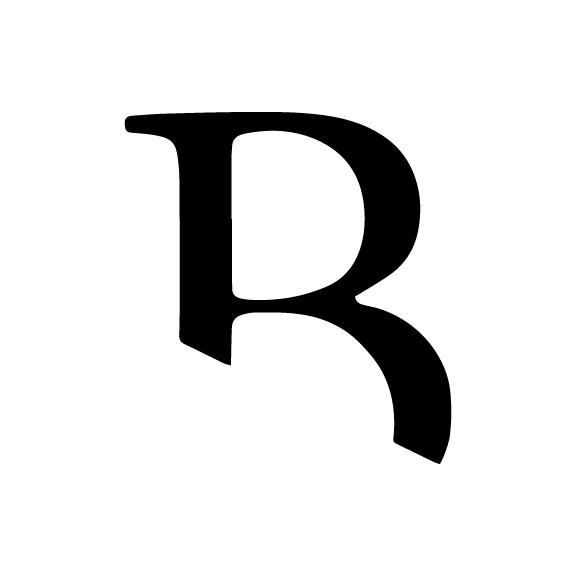 Monogram for Britt Latz by Drop Cap Design