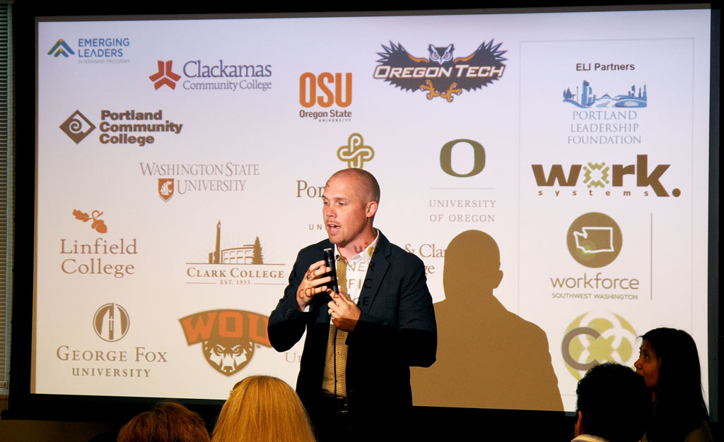 Ben Sand, of Portland Leadership Foundation