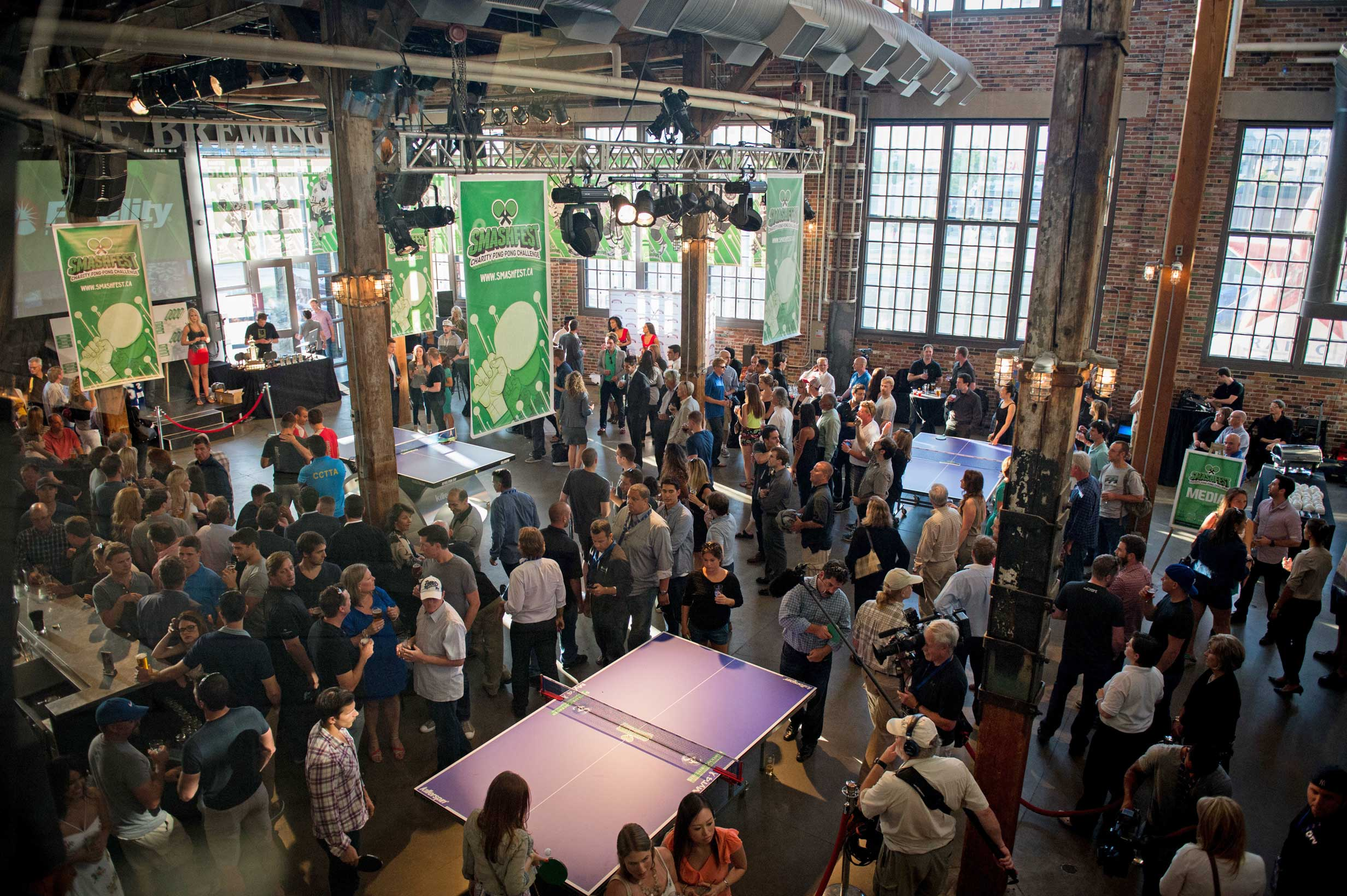 Join us for a Charity Ping Pong Challenge  SMASHFEST   Register >