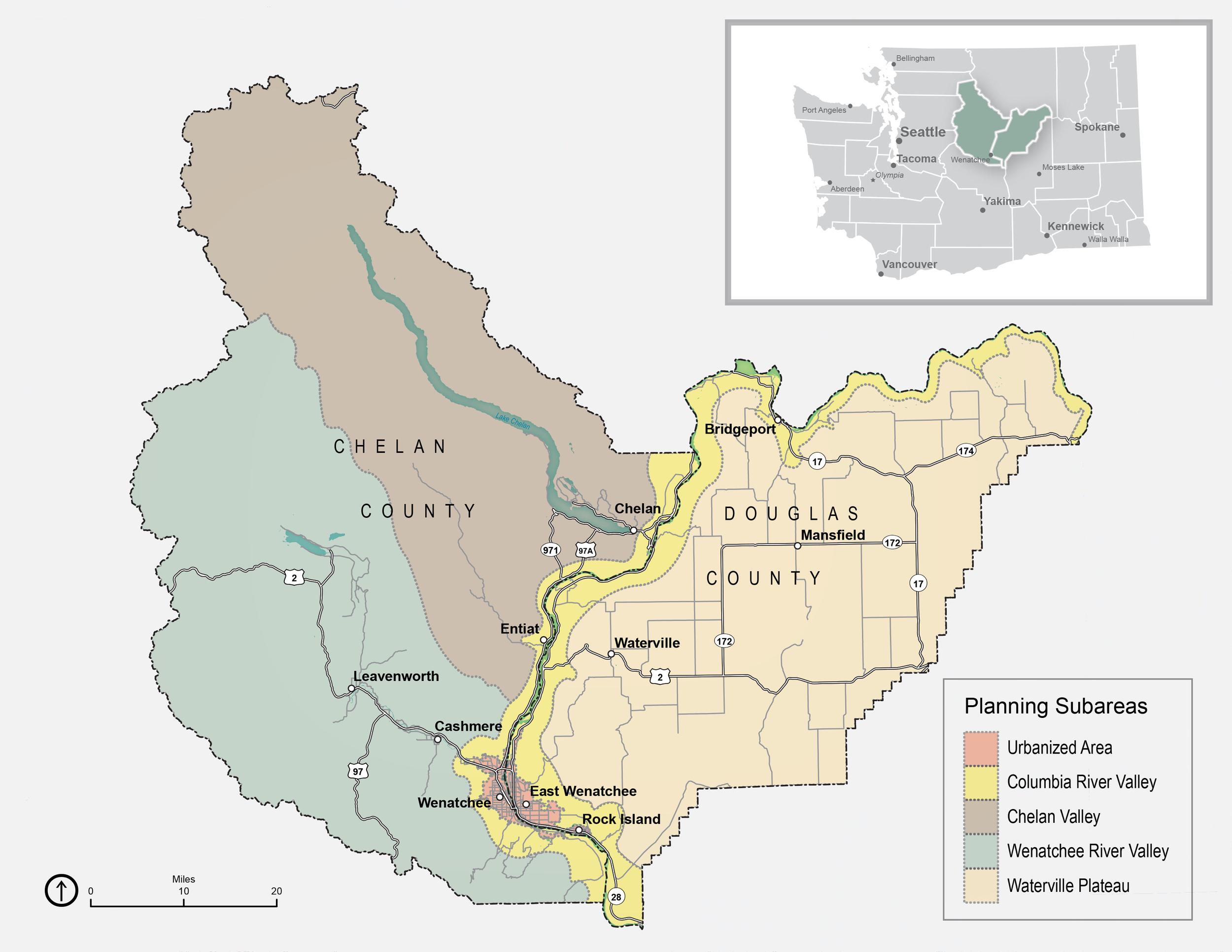 Chelan-Douglas Metropolitan Planning Area