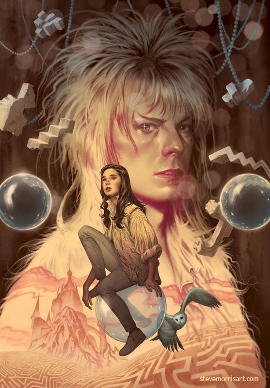 Jim Henson's Labyrinth Artist Tribute Cover