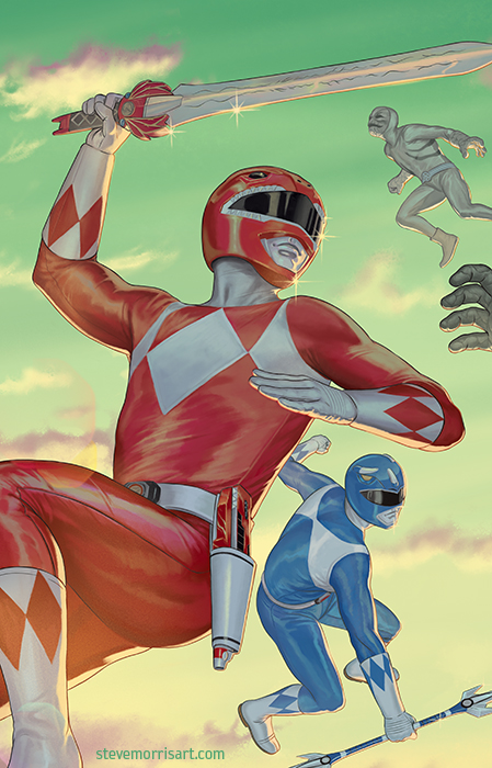 Mighty Mophin Power Rangers