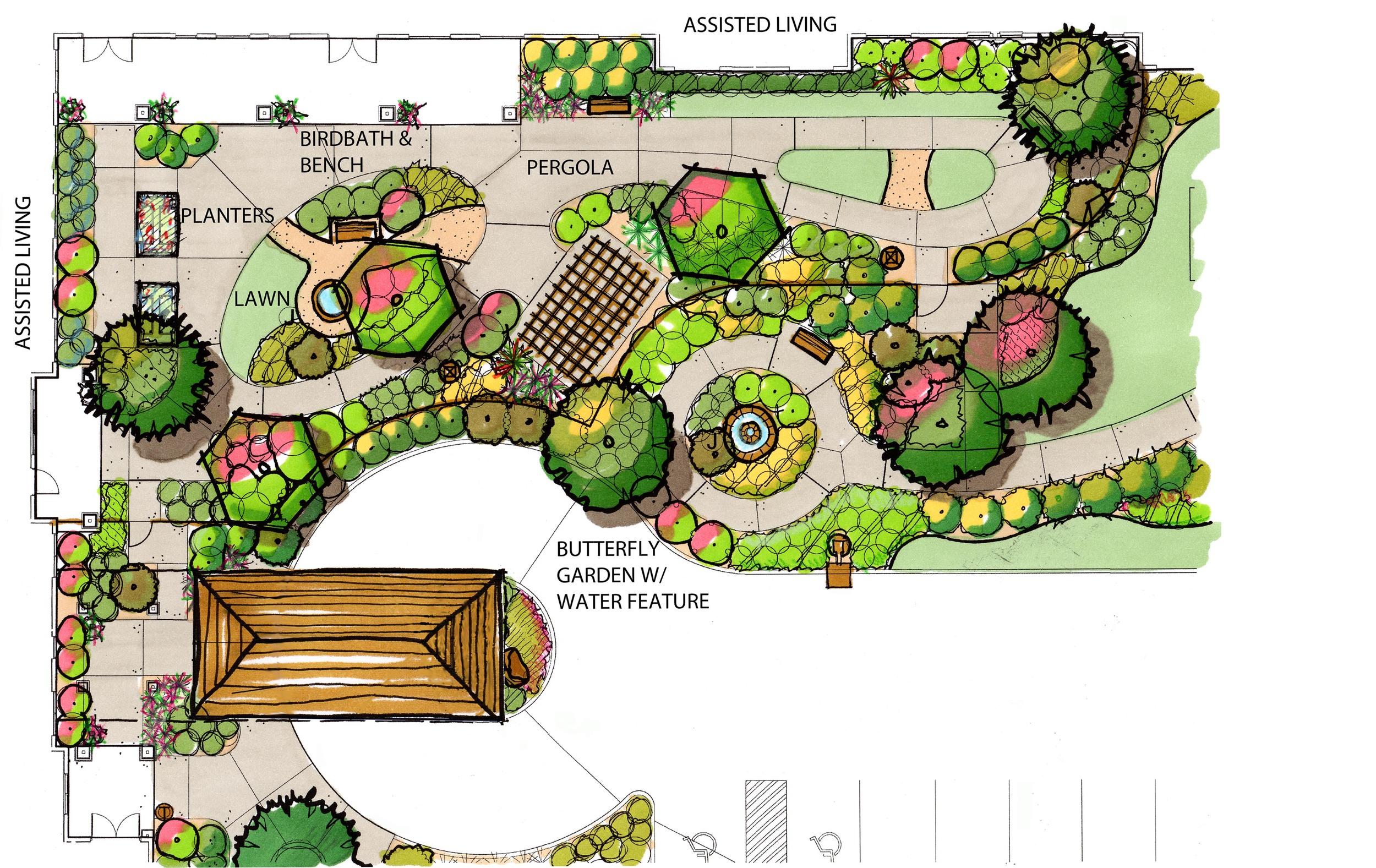 Butterfly garden at PVN