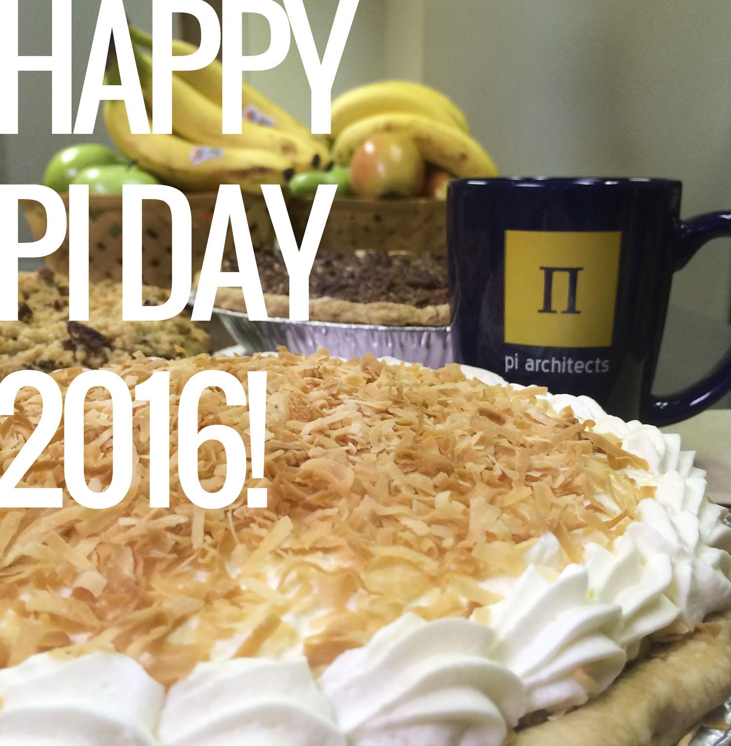 Pi day 2016 pie