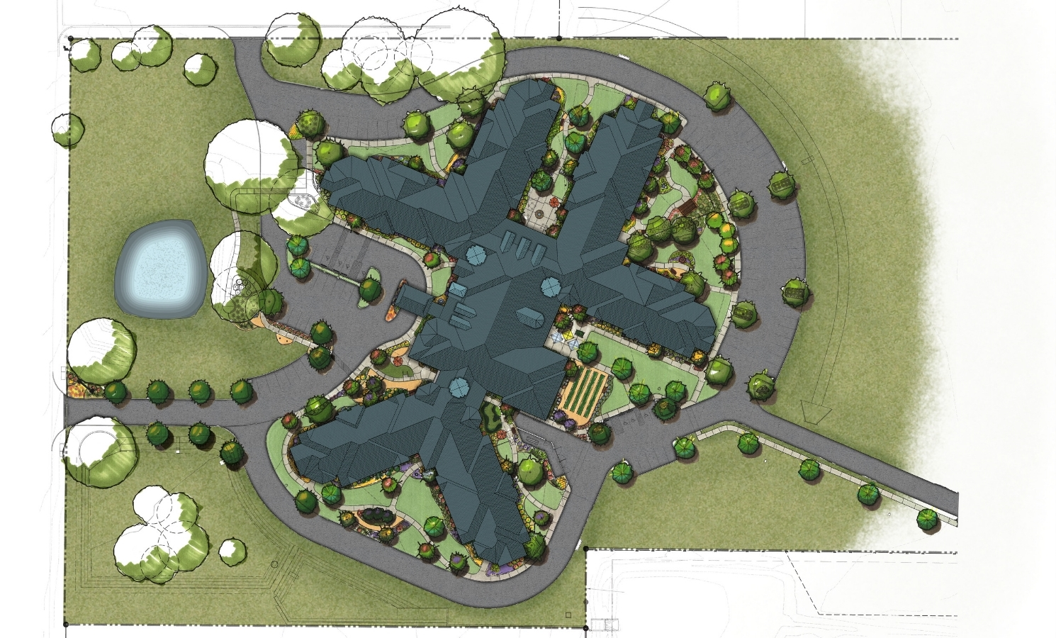 Pi Architects SPJST Site Plan