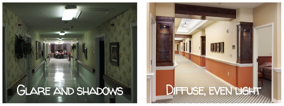 lighting examples for long term care