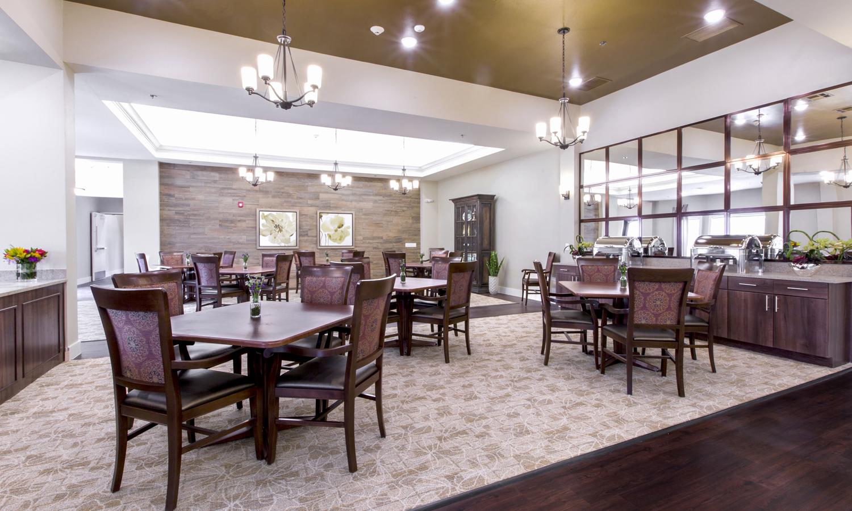 Heartis Arlington Texas Pi Architects Dining Room